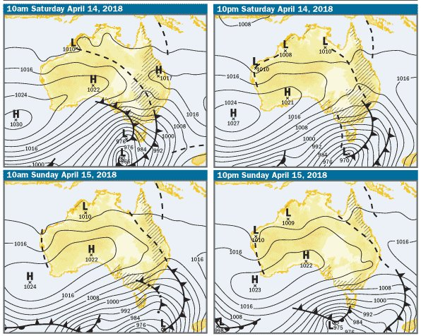 Wet and windy weekend ahead for #Tas. Rainfall...