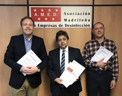 test Twitter Media - Hace unos días firmamos un convenio de colaboración con la Asociación Madrileña de Empresas de Desinfección (AMED) para la promoción, sensibilización y divulgación de actividades de certificación de sistemas de gestión. https://t.co/UBpU0GMgRQ https://t.co/v1pyrjtGZw