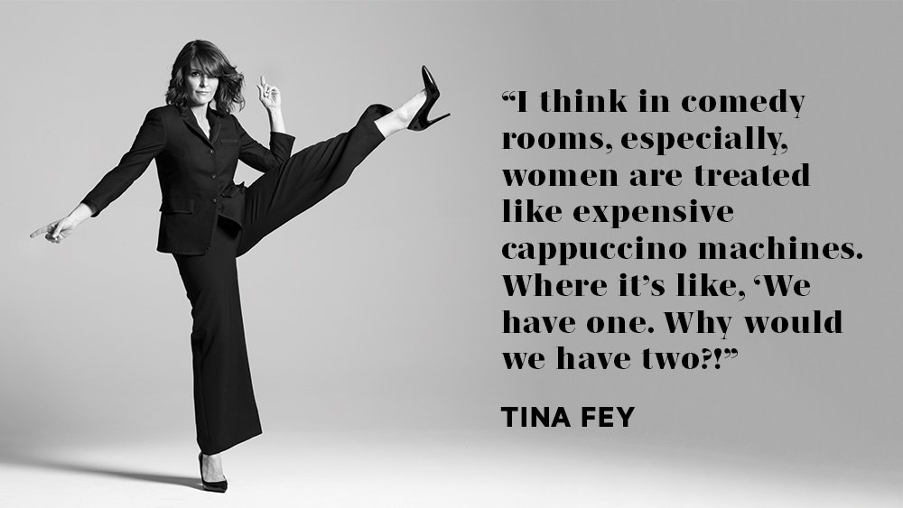 "Tina Fey: ""The more diverse the room is, it automatically becomes better"""