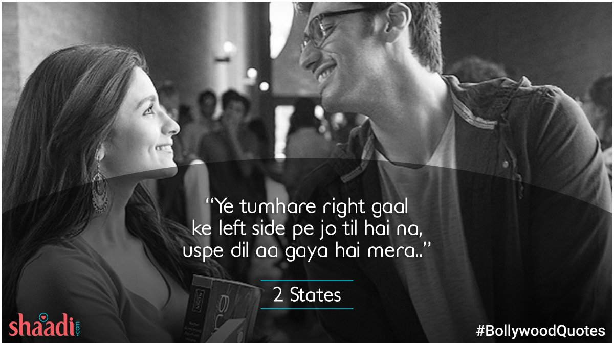 test Twitter Media - Do you have a name or can I call you mine? ;)  #Bollywood #QuotesForLife #2states https://t.co/9VfN7LDAV9