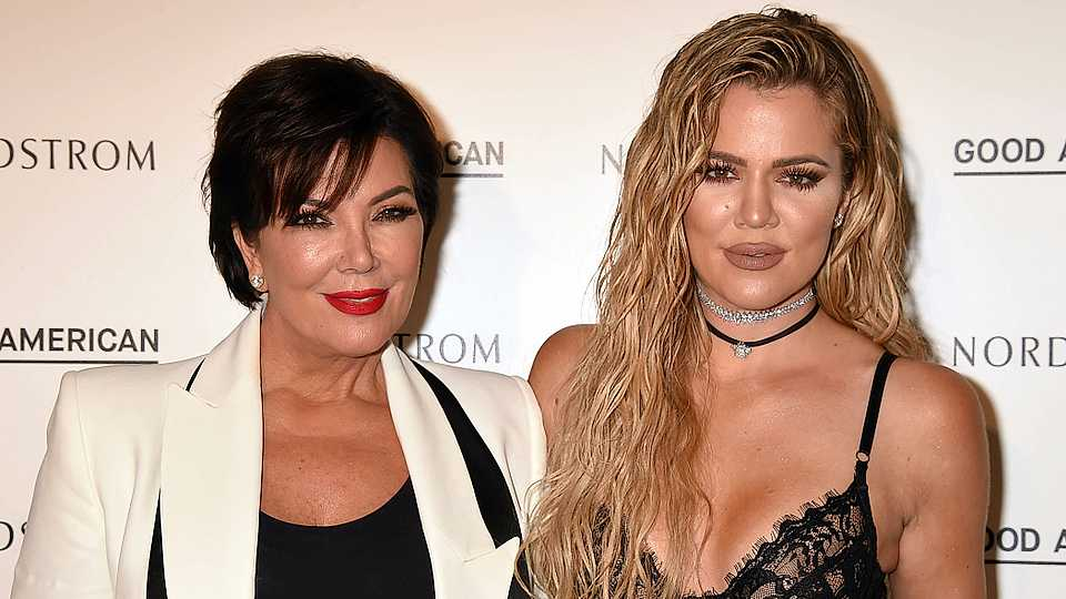 Kris Jenner's congratulatory message to Khloe Kardashian is, err, interesting