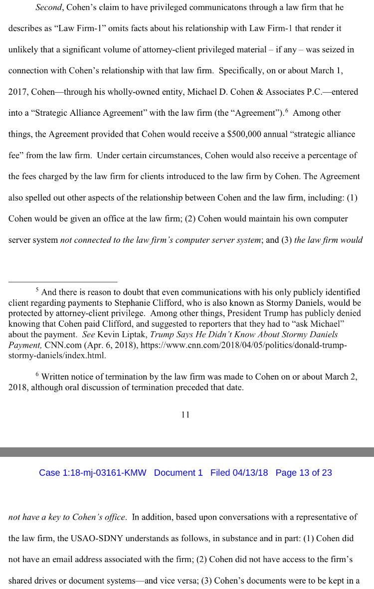 Patton Boggs was paying Cohen $500,000 per year for... introductions? https://t.co/d6f8p3liaR https://t.co/9eL2p8csXu