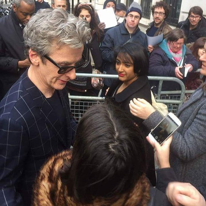 Happy birthday to the wonderful Peter Capaldi