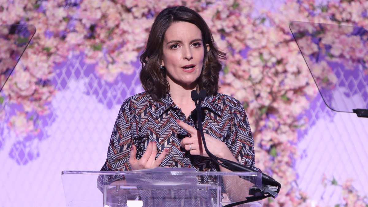 "WATCH: Tina Fey on her vow to ""create opportunity for others"""