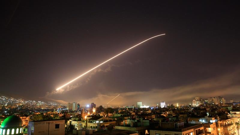 All the latest updates on Syria air strikes