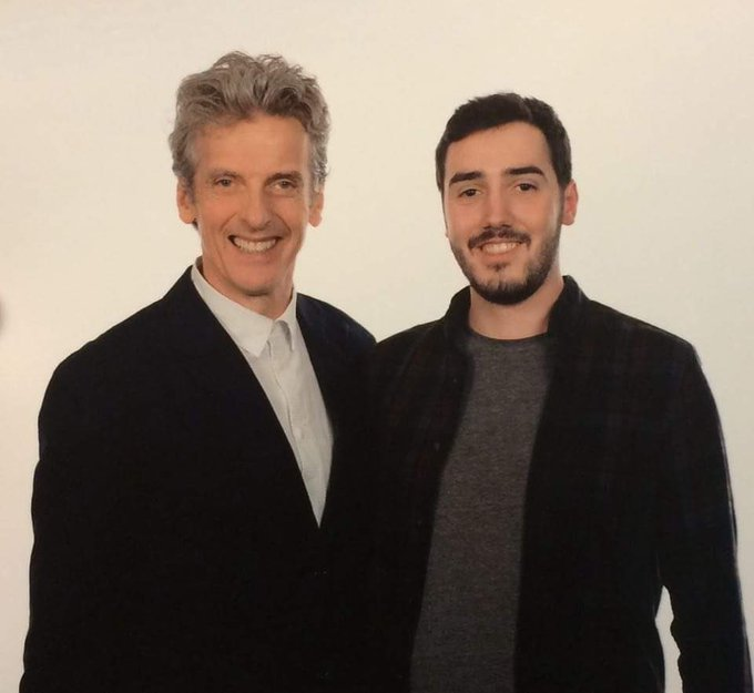 Happy birthday to my mate, Peter Capaldi.
