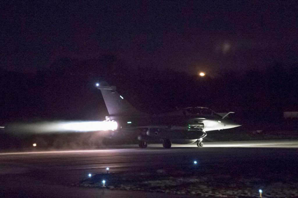Israel says U.S.-led strikes have enforced Syria red line