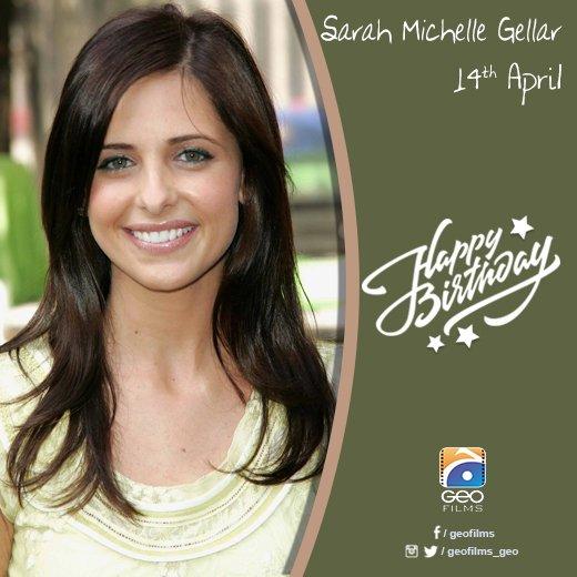 Happy Birthday Sarah Michelle Gellar!