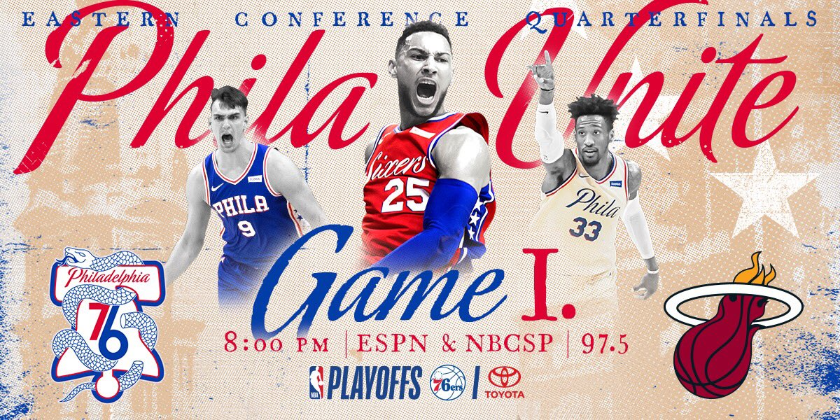 Tonight, we unite.  #PhilaUnite x #HereTheyCome https://t.co/qIw9V4jeV6