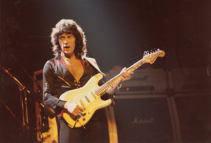 Happy birthday to the legendary, Ritchie Blackmore!