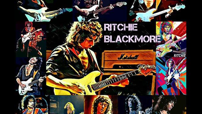 Happy birthday to Ritchie Blackmore of Deep Purple & Rainbow.