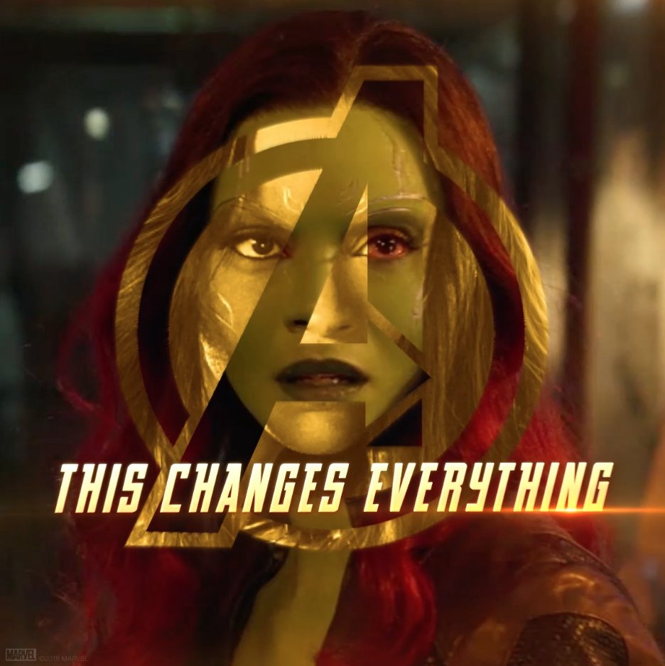 It's all been leading to this. @Avengers: #InfinityWar #Gamora https://t.co/pwX3pJ3FzP