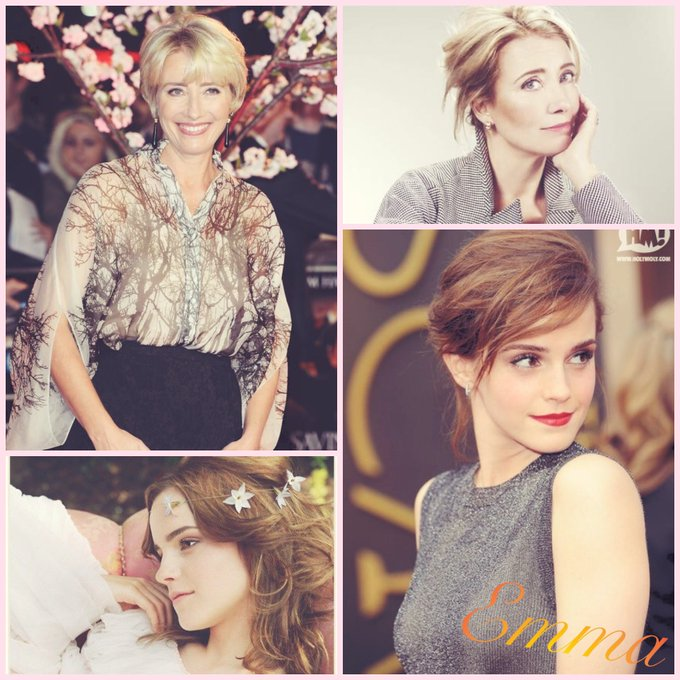 Happy Birthday Emma Watson&Emma Thompson