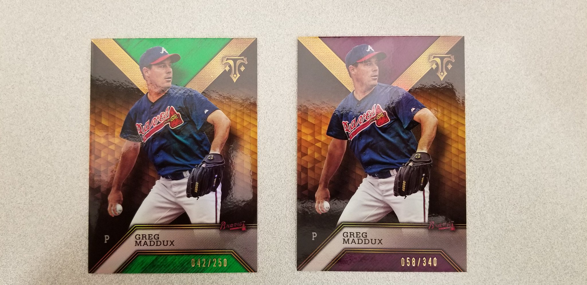 We're giving away a pair of limited edition @gregmaddux cards for his birthday. RT to win. #MLBCards https://t.co/ddRNl84zW9