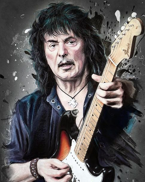 Happy 73rd birthday to guitar legend, Ritchie Blackmore.