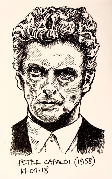 Day 104 - born 14th April 1958, Happy 60th Birthday ... Peter Capaldi