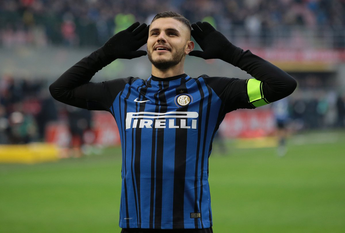 Icardi with a BIG goal! ⚽️   1 icardi