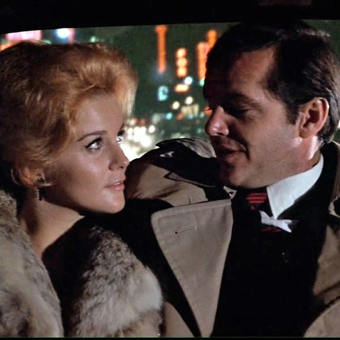 Happy 77th birthday to Ann-Margret, seen here with Jack Nicholson in CARNAL KNOWLEDGE (1971)