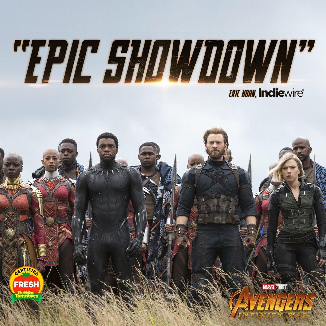The wait is over. Marvel Studios' 'Avengers: #InfinityWar' is NOW PLAYING. Get tickets: https://t.co/kctg8VkHan https://t.co/tkmzdzU2t2