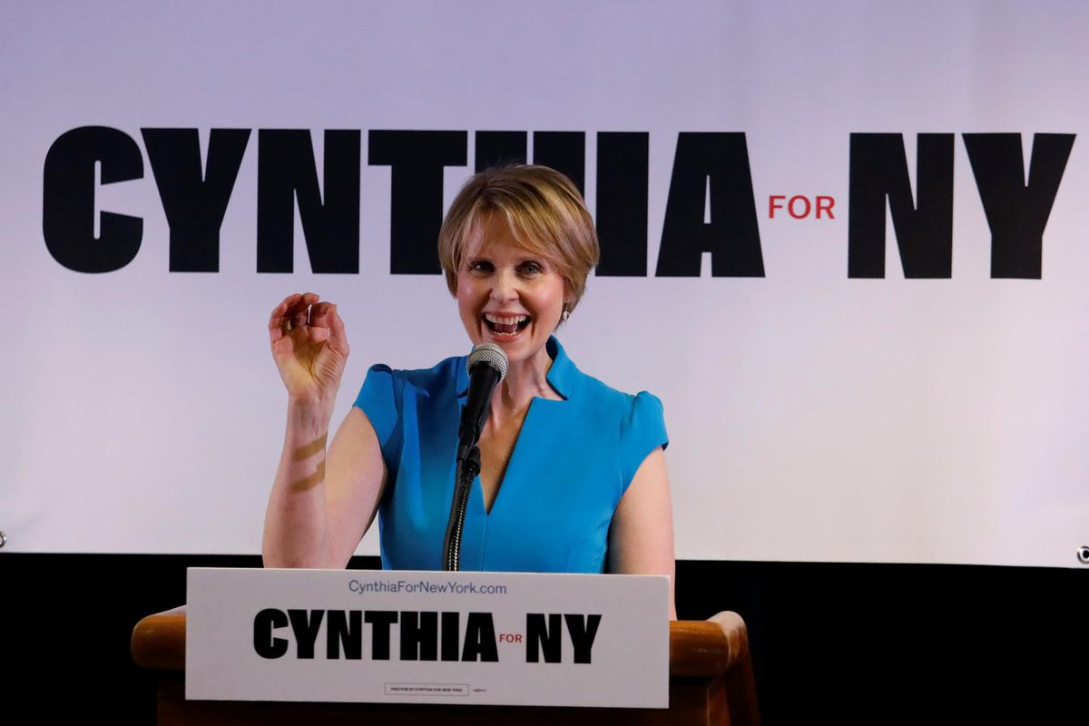 Cynthia Nixon's candidacy proves New York is becoming a liberal paradise | Opinion