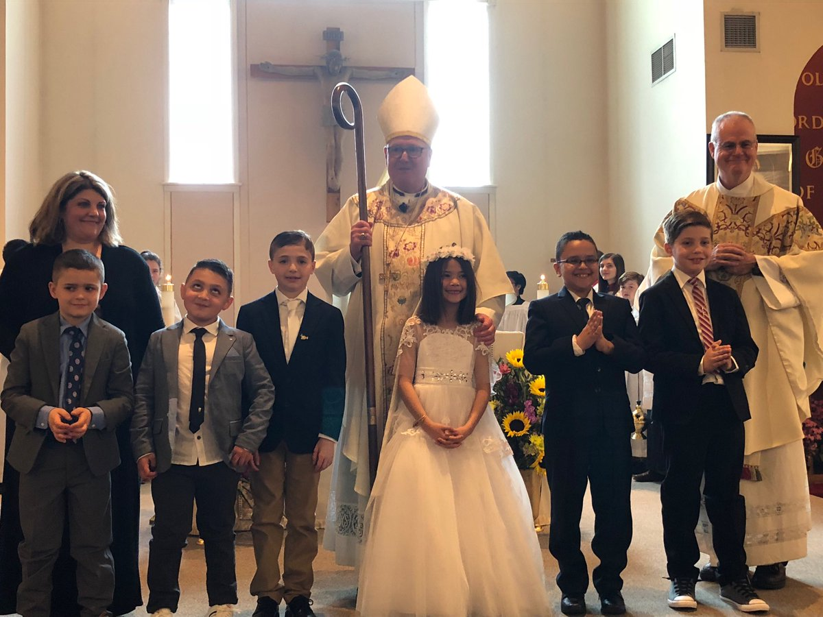 test Twitter Media - I love to celebrate Sunday Mass at @StPatsNYC, but it is always a joy for me to celebrate Mass in one of the @NY_Arch parishes. Today I was honored to offer First Holy Communion to 6 young people at Saint Patrick's in Highland Mills.  My thanks to Fr. Joe Tyrrell and his staff! https://t.co/4hOI4Mx6b6