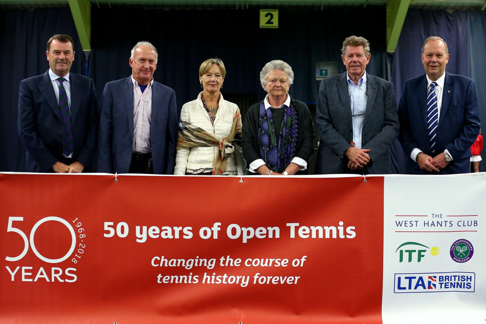 Commemorating the birth of the Open Era at the @WestHantsClub, home to the first open tennis tournament in 1968 https://t.co/3Mcr8SiWm5