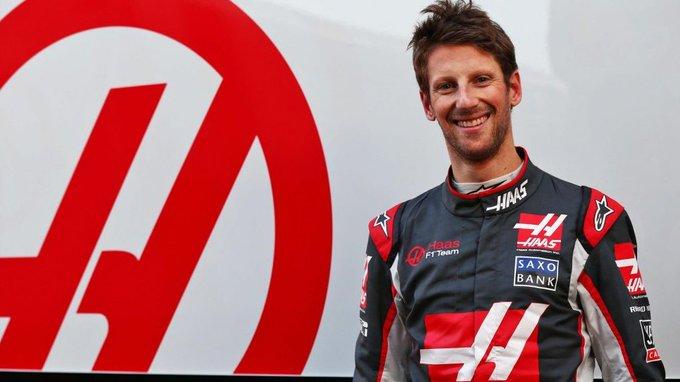 Happy 32nd Birthday to Romain Grosjean.