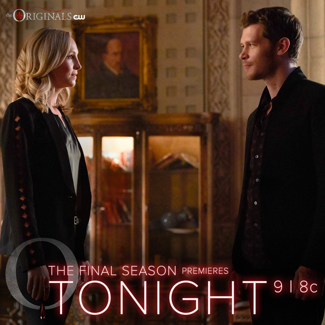 A long-awaited reunion. The final season premieres TONIGHT at 9/8c on The CW! #TheOriginals https://t.co/Nf0sa6us5Y
