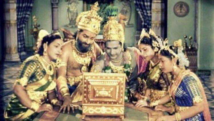 test Twitter Media - Prince Rama accepting Sita's proposal on @ShaadiDotCom as King Dasharatha and his wives watch. https://t.co/C1go1LJBu5