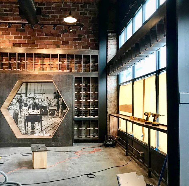 test Twitter Media - The inside of #HDCBallard is coming right along! #HeritageDistilling https://t.co/R31F0ZLyKp