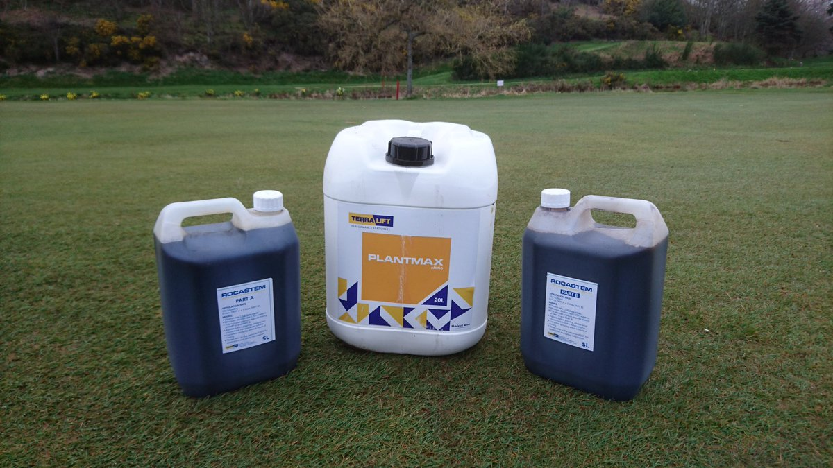 test Twitter Media - Productive start to the day here. Aprons getting a feed and the final treatment of Rocastem and Plantmax going down on the greens. @terralift @Aitkens_turf https://t.co/JhBejQ4oi3