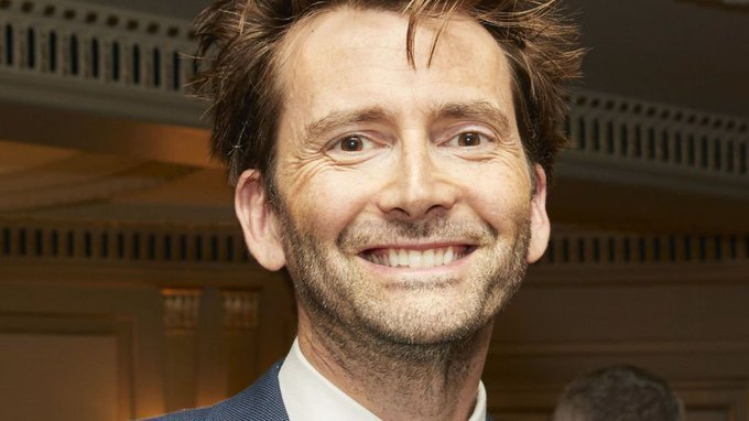 My favourite Doctor has a birthday today! Happy b\day David Tennant