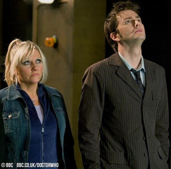 Happy birthday to Camille Coduri and David Tennant