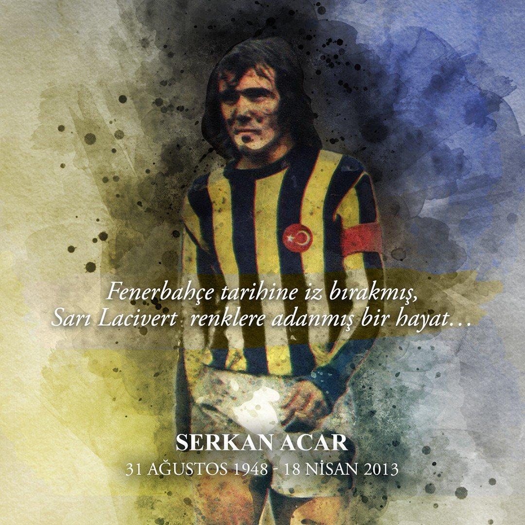 Fenerbahçe tarihine iz bırakanlar unutulmaz... Serkan Acar'ı vefatının 5. yılında saygı, sevgi ve rahmetle anıyoruz. https://t.co/o3xWR6Pcnh