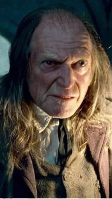 Happy birthday David Bradley!! Filch will always go down as the nastiest caretaker of all time.