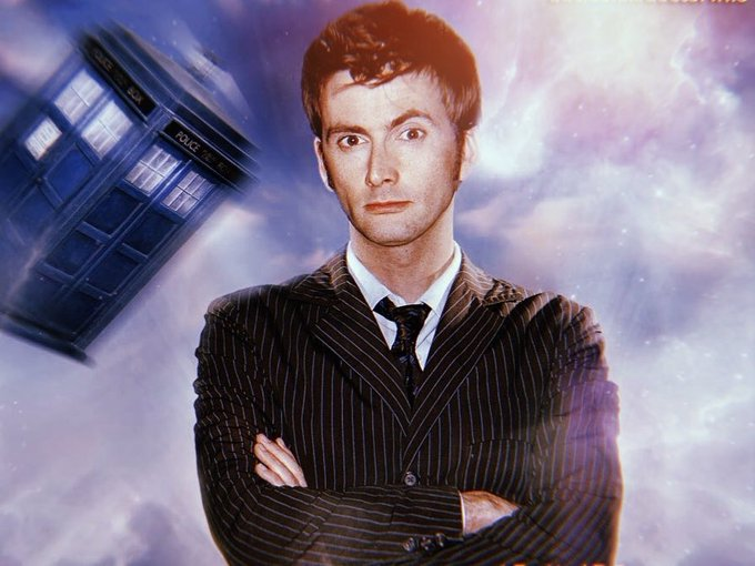 Happy 47th Birthday to the incredible Tenth Doctor, David Tennant!