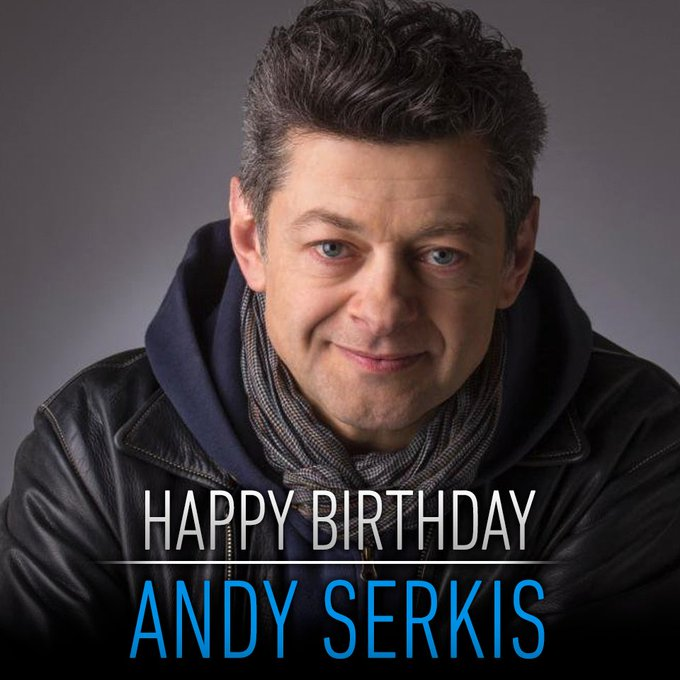 Happy birthday to the man behind Supreme Leader Snoke. message us your birthday wishes for Andy Serkis