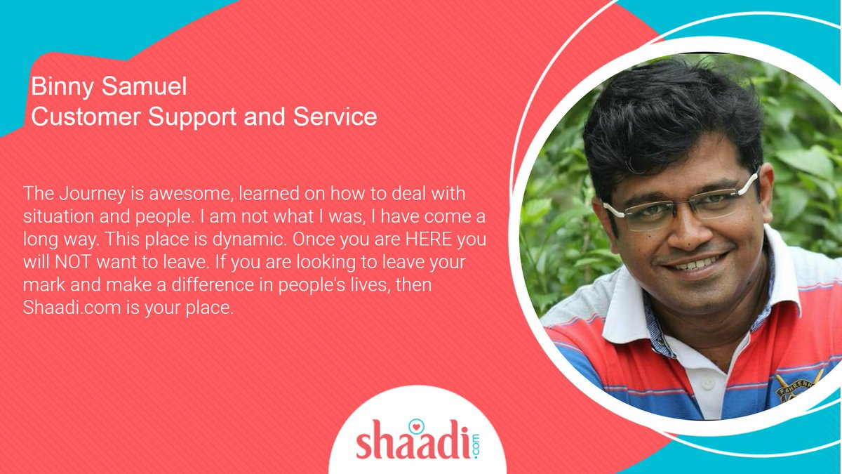 test Twitter Media - Every single one of our employees plays a pivotal role in the success of our organization.  #ThankYou Binny Samuel for sharing your wonderful experience with us. #EmployeeTestimonial @ShaadiDotCom #employees #Shaadidotcom https://t.co/DO94H3S3Qz