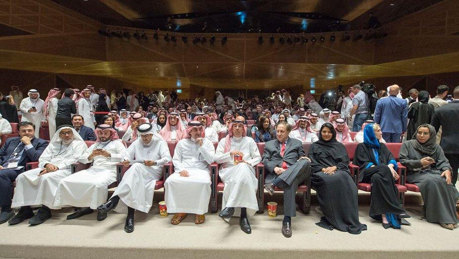 Saudi Arabia breaks 35year cinema ban with histori