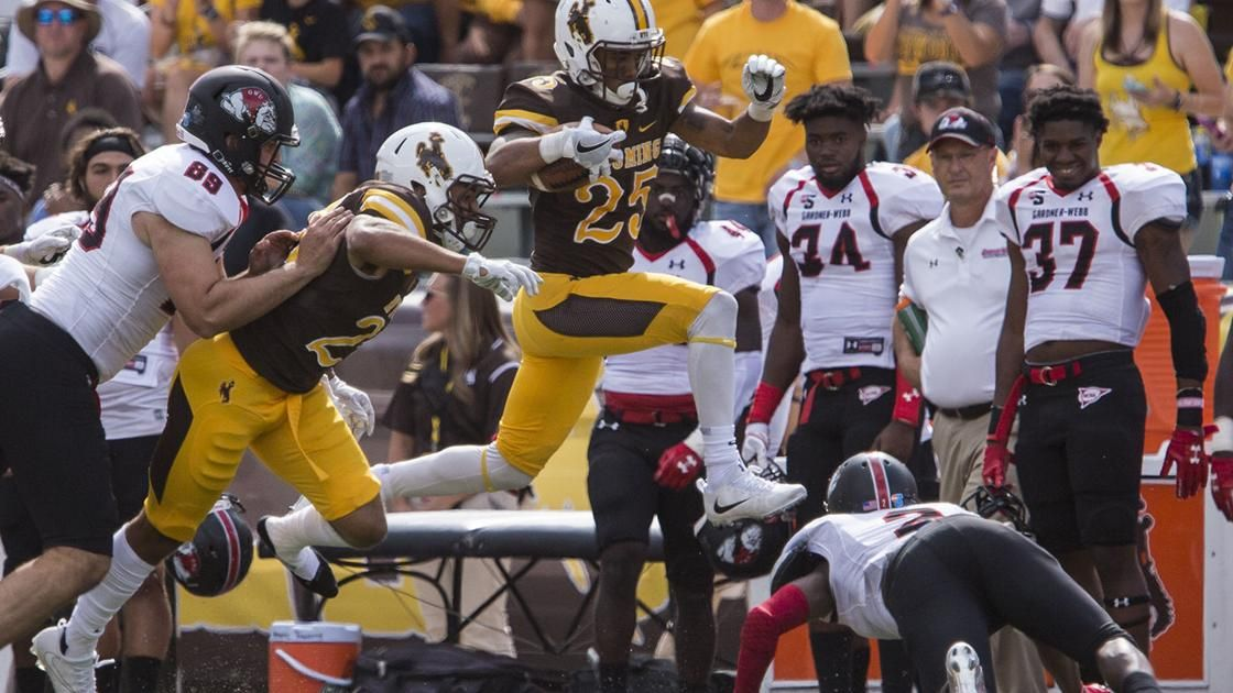 Often blamed for Josh Allen's 2017 struggles, Wyoming receivers ready to take step forward