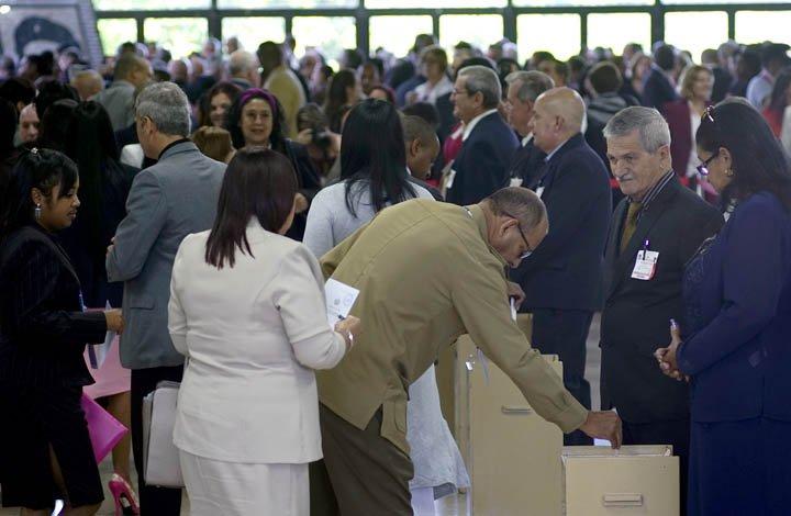 @BroadcastImagem: Novo presidente cubano será eleito nesta quarta-feira, diz mídia estatal. Ramon Espinosa/AP