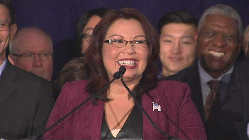 Senate votes to allow babies in chamber after Tammy Duckworth becomes first senator to give birth while in office