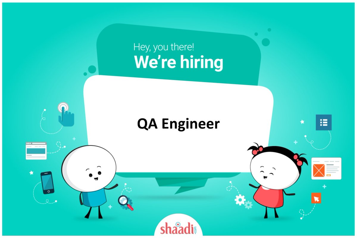 test Twitter Media - We are looking for a QA Engineer to join @ShaadiDotCom team and help us take our platform to the next level. Great opportunity to join a great company and an amazing team!.Don't miss out this opportunity! Apply here - https://t.co/QOHgSHGrou  #automationtesting #testing #hiring https://t.co/cCBVR31uBZ