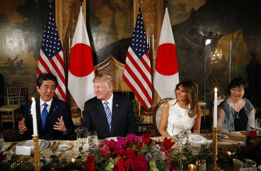 Trump, Abe fail to agree on US tariff exemption for Japan: https://t.co/8ZEjGVbS4q https://t.co/r1Qc9YyobF