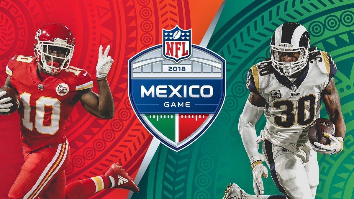 Chiefs Rams in Mexico City sla Rams