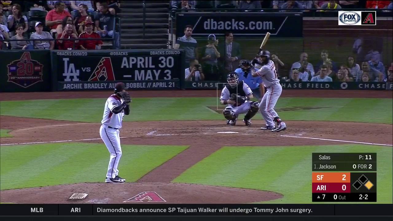 .@Dbacks double play! 5 ➡️4➡️3 #GenerationDbacks https://t.co/sKsRJV9SZ0