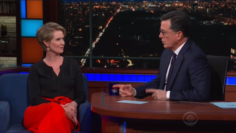 "Cynthia Nixon argues there's nothing ""inherently wrong"" with celebrities entering politics"