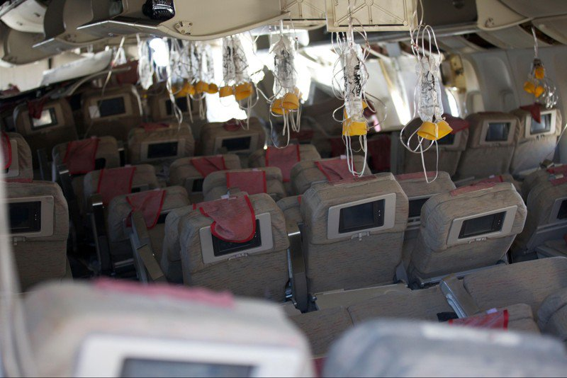 Southwest passengers shown wearing oxygen masks incorrectly