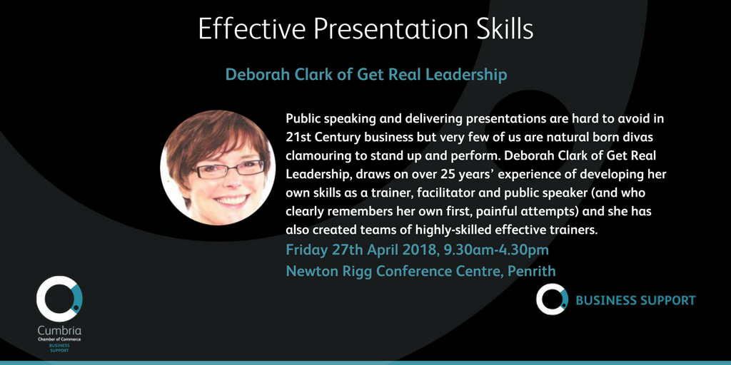 test Twitter Media - Effective Presentation Skills: Finding Your Voice and Using It with Confidence - with Deborah Clark of Get Real Leadership, 27th April, Newton Rigg, Penrith - see https://t.co/W0rQl2On56 https://t.co/jBHhu5aBMF