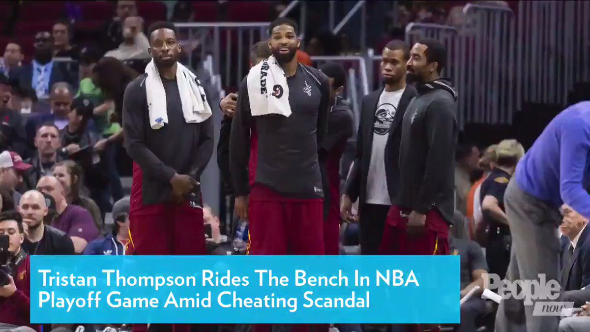 Tristan Thompson Rides the Bench in NBA Playoff Game Amid Cheating Scandal